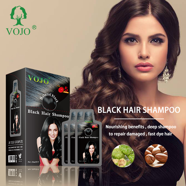 2021 new product herbal formula halal fast magic blackening hair color shampoo no ammonia oem