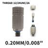"""0.20mm/0.008"""" 12/24UNC/2A"""