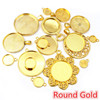 Round Gold