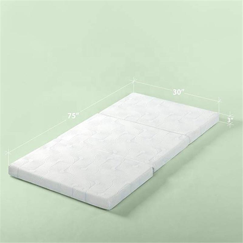 Queen Size Tri Fold Gel Memory Foam