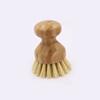Bamboo round sisal brush