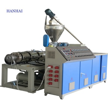 Plastic PVC Pipe Making Machine Water Supply Drainage Pipe Gas Tube Production Line