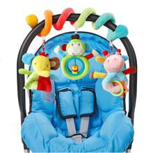 Горячая Распродажа, детские игрушки, многофункциональные плюшевые игрушки для кровати, Детские сенсорные Развивающие игрушки для новорожд...(Китай)