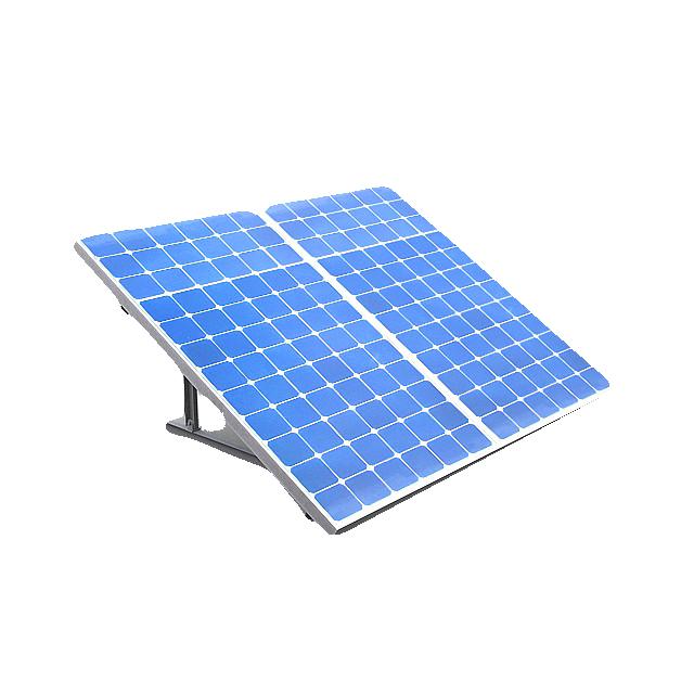aluminum alloy solar rail solar panel module stand bracket of slope roof solar mounting system
