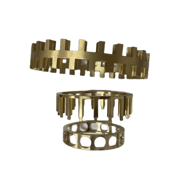 The exquisite copper retainer has stable performance, durability and can be customized