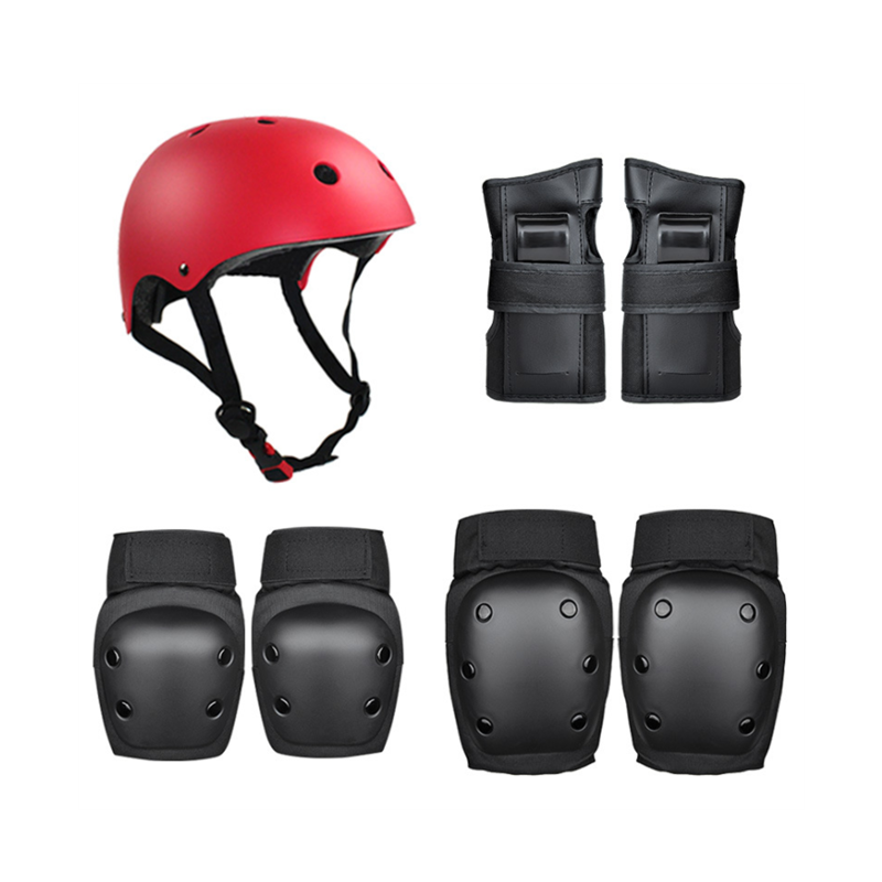 Inline Skating Kids Knee Pads and Elbow Pads Wrist Guard Protector 6 in 1 Protective Gear Set for Scooter Skateboard AresKo Kids//Youth Protective Gear Set Bicycle