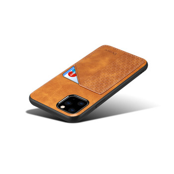 Phone carry Full grain leather Material wholesale factory price leather holster phone case for iphone 11 pro max leather case