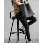Hand Luxury High Quality Pure Hand Knitted Genuine Leather Women Tote Bag