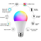 Led Light Bulb Rgb Led Light Bulb Lamp Led Bulb Rgb Led Wifi Alexa Smart Led Light Bulb Google Tuya Rgb Smart Life App Wifi Light 9W Lamp E26 E27 B22 Home Smart Light Bombillos