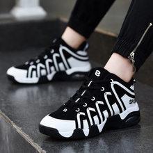 Новые Брендовые мужские баскетбольные кроссовки, роскошные воздухопроницаемые красные/черные спортивные кроссовки, высокие дышащие кросс...(Китай)