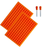 Orange(2 Cube+2 Dropper)