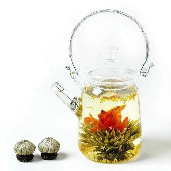 Beautiful Hand-made Blooming Flower Tea Ball Organic Detox Flower Tea Independent Packaging With Reasonable Price - 4uTea | 4uTea.com