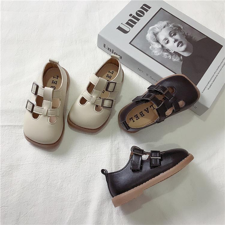 2021 детское праздничное платье высокого качества детская пляжная обувь с мягкой подошвой; Обувь со сквозными отверстиями; MSgx-24
