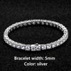5mm Silver Bracelet