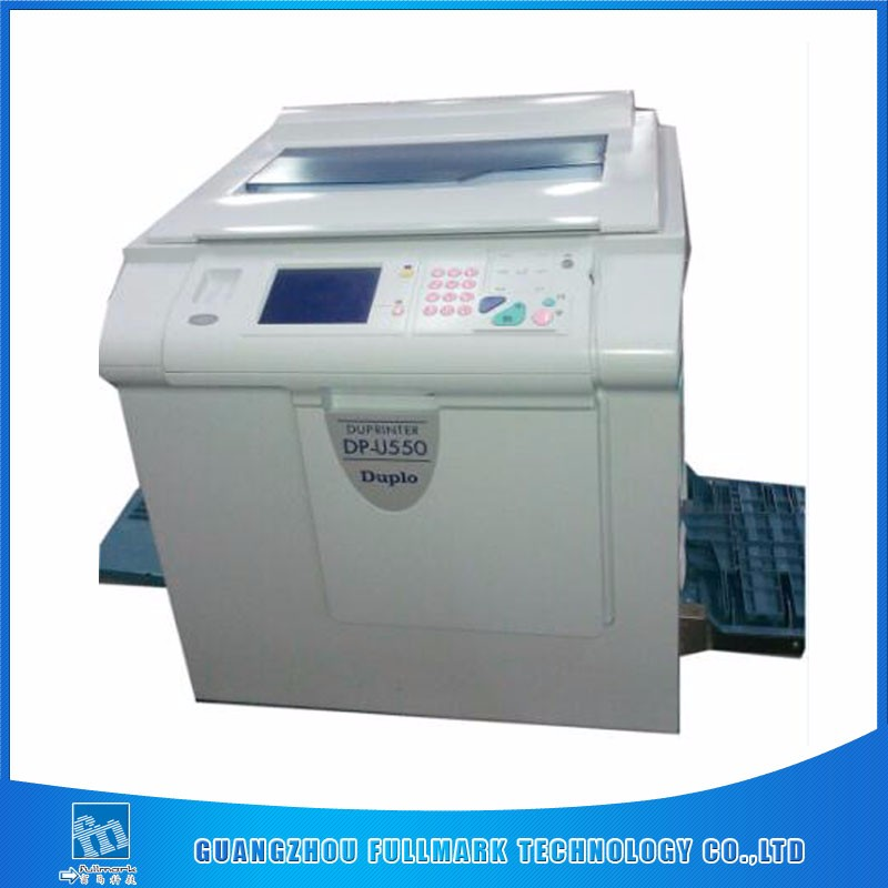 Good quality Duplo digital duplicator U550 used printing copier machines