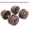 A pair of 20 KG dumbbells alone