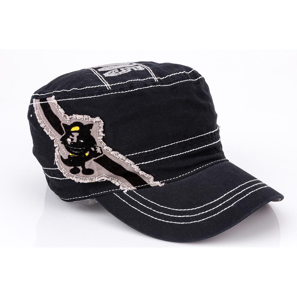 Men Washable Cotton Vintage Military Caps Cadet Patrol Hat