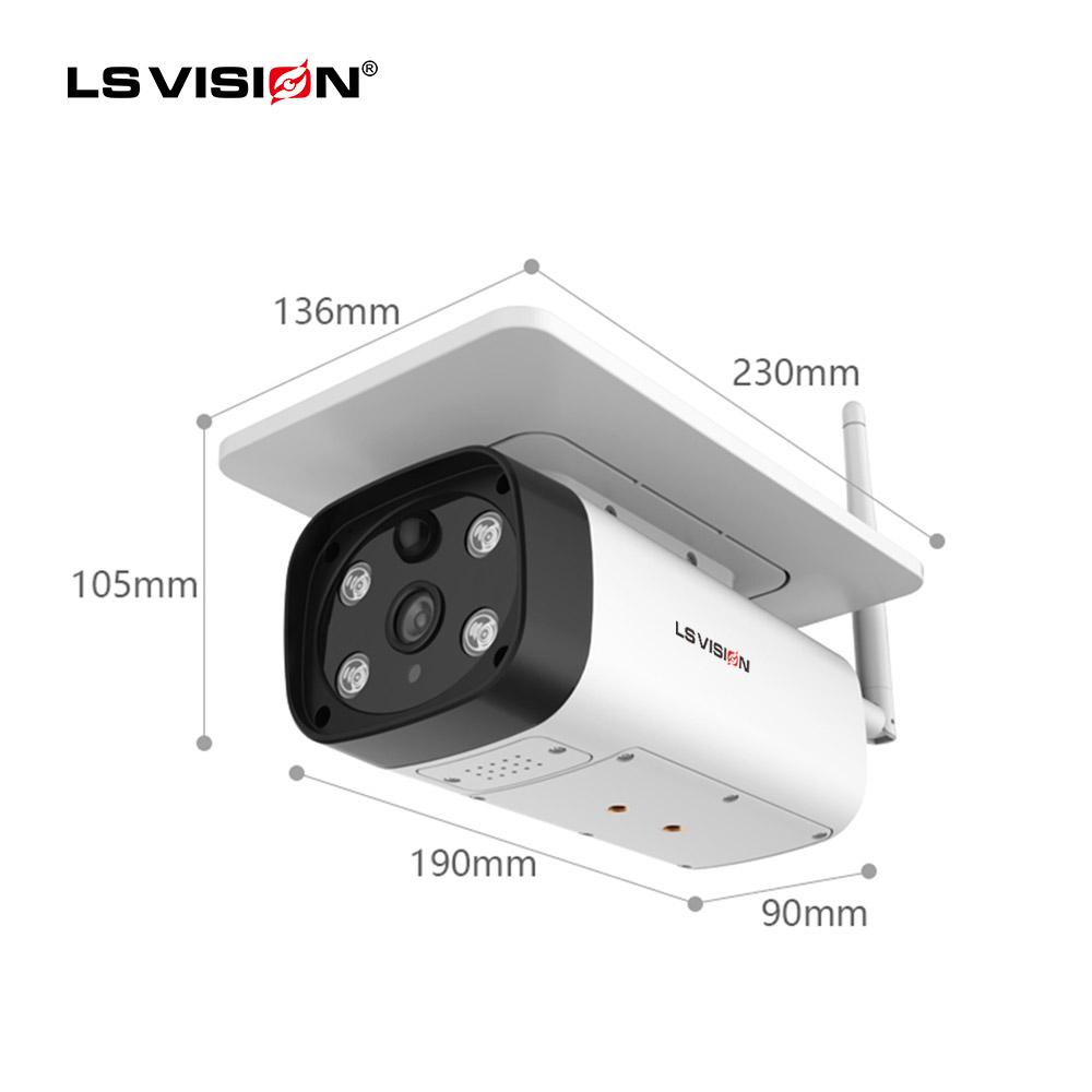1080p Wifi Solar Powered Camera PTZ 2MP HD Waterproof Outdoor IP Camera Wireless Security CCTV Surveillance Camera