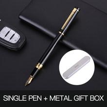 Guoyi Z360 Роскошные чернила перьевая ручка 0,5 мм металлический high-end, деловая, для офиса, подарки и фирменным логотипом на заказ цифровым пером(Китай)