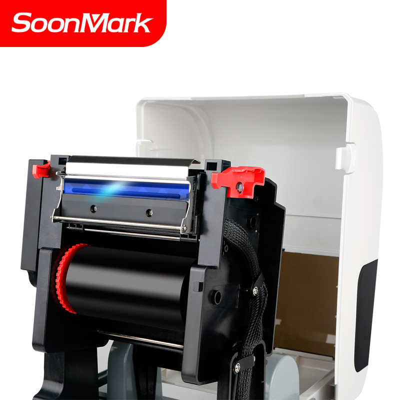 4 inch 4x6 300dpi thermal transfer or direct thermal label printer support 108mm printing width