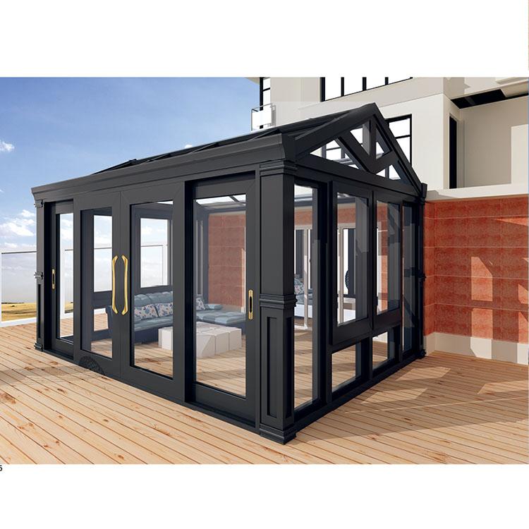 Предварительно изготовленный домик, Солнечная комната/Зимний сад/стеклянный дом с изолированным стеклом