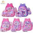 High School Bag Bags School Bags BESTWILL Hot-Sell 2020 High Quality Kids School Bag Set Back To Trolley School Bag With Lunch Bag