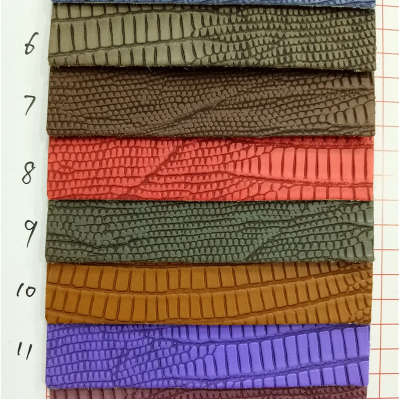 Lizard PVC vinyl fabric YX861for wallet bag shoes and upholstery