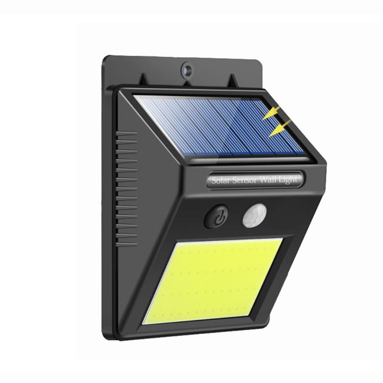 YJN5451 Современный наружный человеческий тело индукционный водонепроницаемый садовый на солнечных батареях Светодиодный настенный светильник