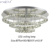Modern LED Crystal Ceiling Light luxury Living Room Bedroom deco crystal ceiling amp