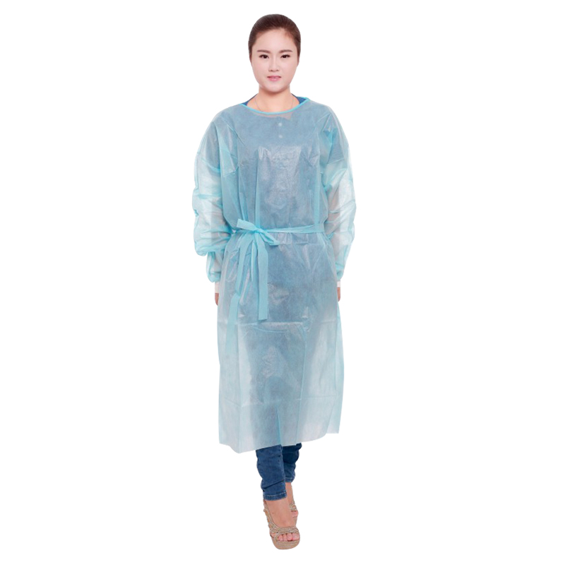 Professional Disposable PE PP CPE protective waterproof surgical isolation gowns
