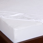 Bamboo Mattress Bamboo Waterproof Mattress Protector Luxury Bamboo Terry Towel Cloth Washable Bed Bug Protector Queen Size Waterproof Bed Sheet Mattress Cover For Hotel Custom