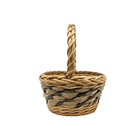 Wicker Hand New Design Nature Wicker Rattan Picnic Love Gift Hand Woven Baskets