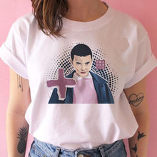 Женская футболка Stranger Things, Сезон 3, одиннадцать футболок, графическая одежда, женская футболка с перевернутыми ногами, гранж, Забавные футбо...(China)