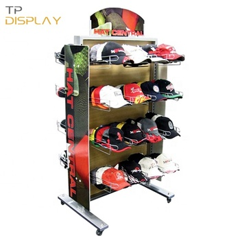 POP Wooden Garment Shop Advertising Hat Store Display Furniture