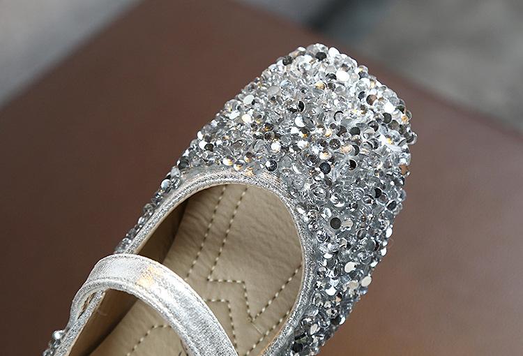 Женские туфли принцессы, школьная обувь для девочек, черные, розовые туфли для выступлений и танцев для девочек