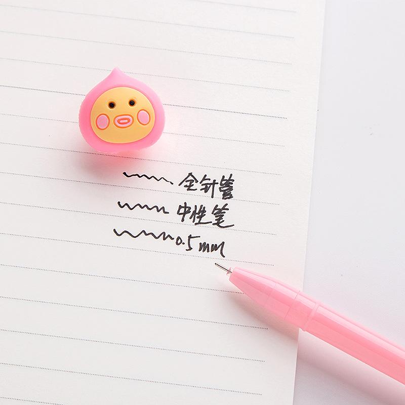 Стильная футболка с изображением персонажей видеоигр студент гелевая ручка канцелярские принадлежности подарок расходные материалы для 0,5 мм с черными чернилами 20 шт./упак.