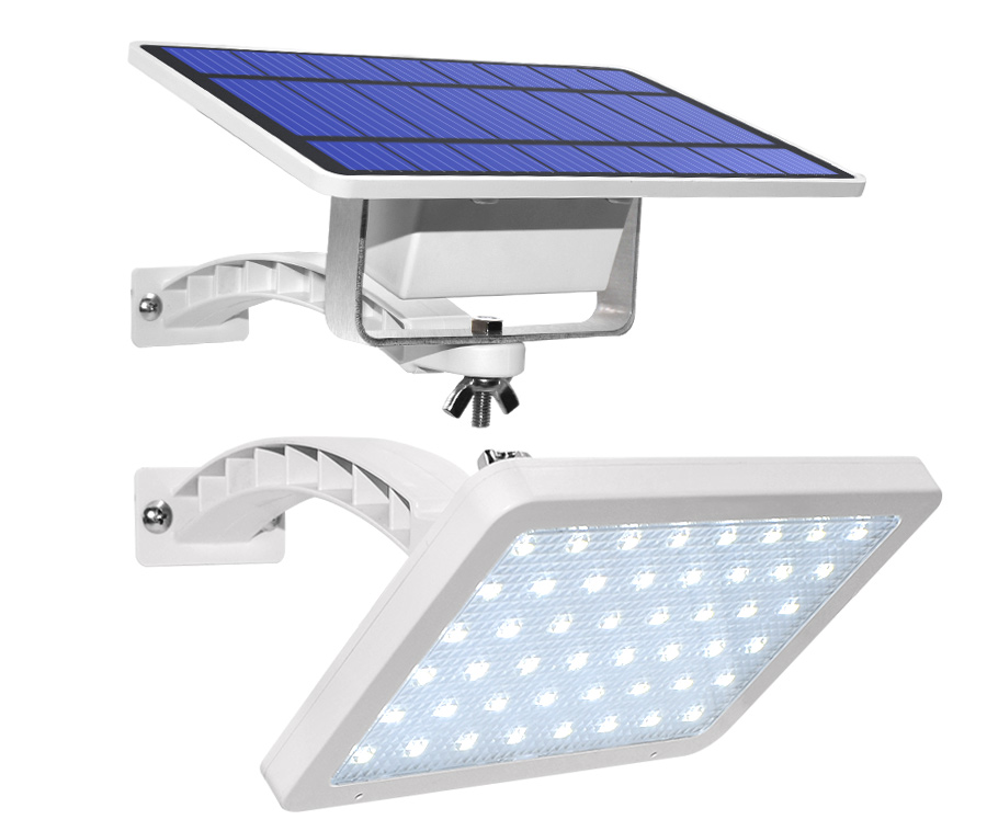 Outdoor Solar Power Wall Lamp LED Street Light  Separate Solar Panel Light