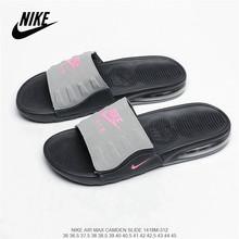 Оригинальная Повседневная пляжная обувь из мягкой кожи Nike Tanjun; Мужские и женские тапочки; Цвет черный, золотой; Размеры 36-45()
