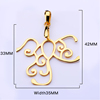 3 gold 33*35mm