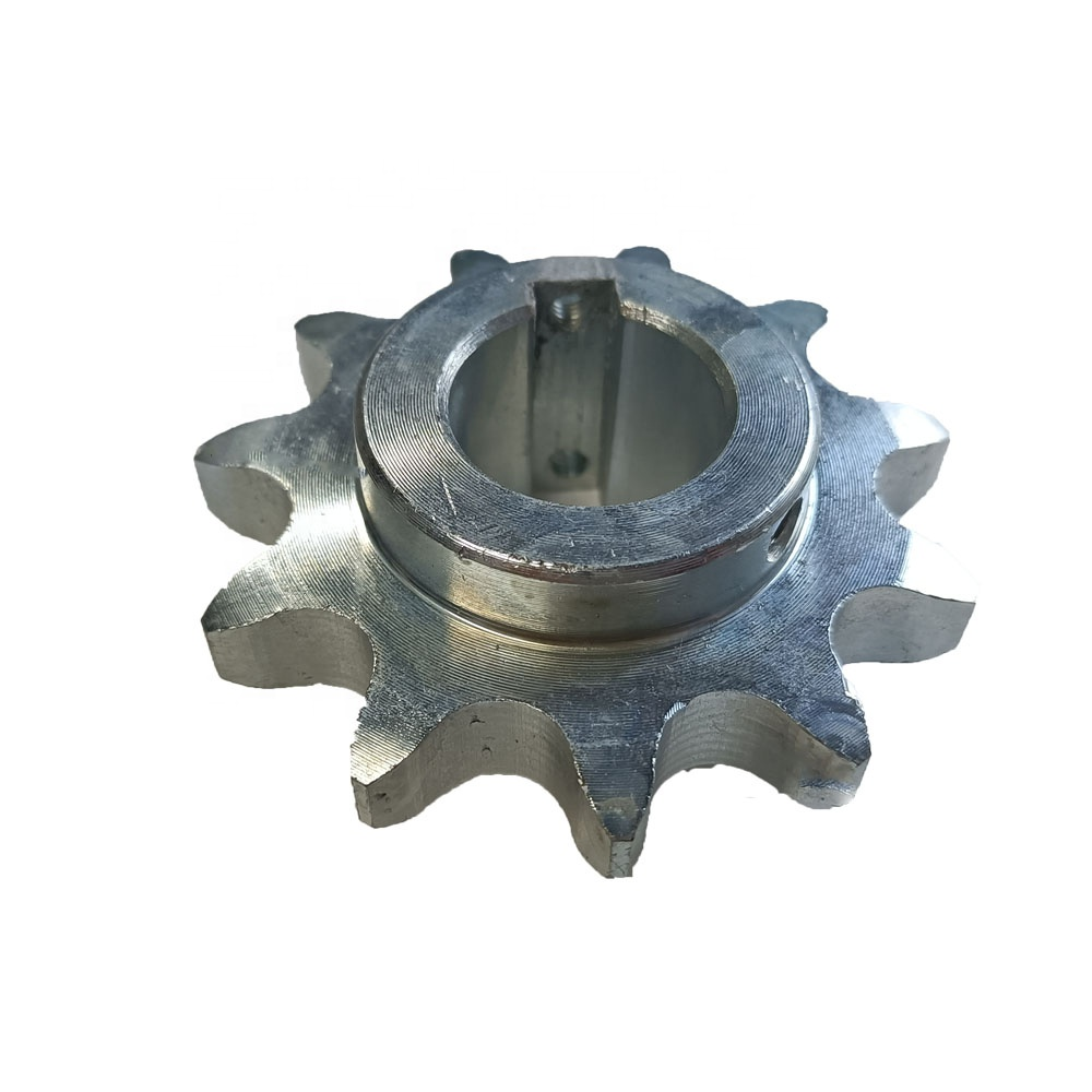 Custom Roller Chain Drive Steel 11 Teeth Galvanized Sprocket