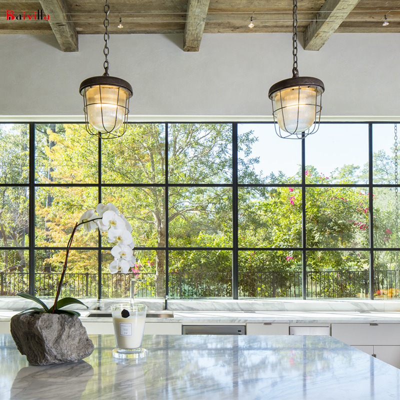 Лучшее безопасное алюминиевое ударопрочное окошко из закаленного стекла, большое фиксированное окно в Австралии