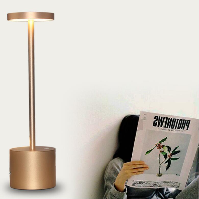 2020 Lampe De Chevet Lampara De Mesa обеденная лампа с перезаряжаемой батареей