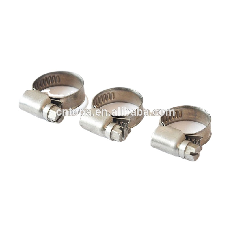Green Water Flexible Germany Hose Clamps with carbon steel stainless steel t bolt rubber hose for car