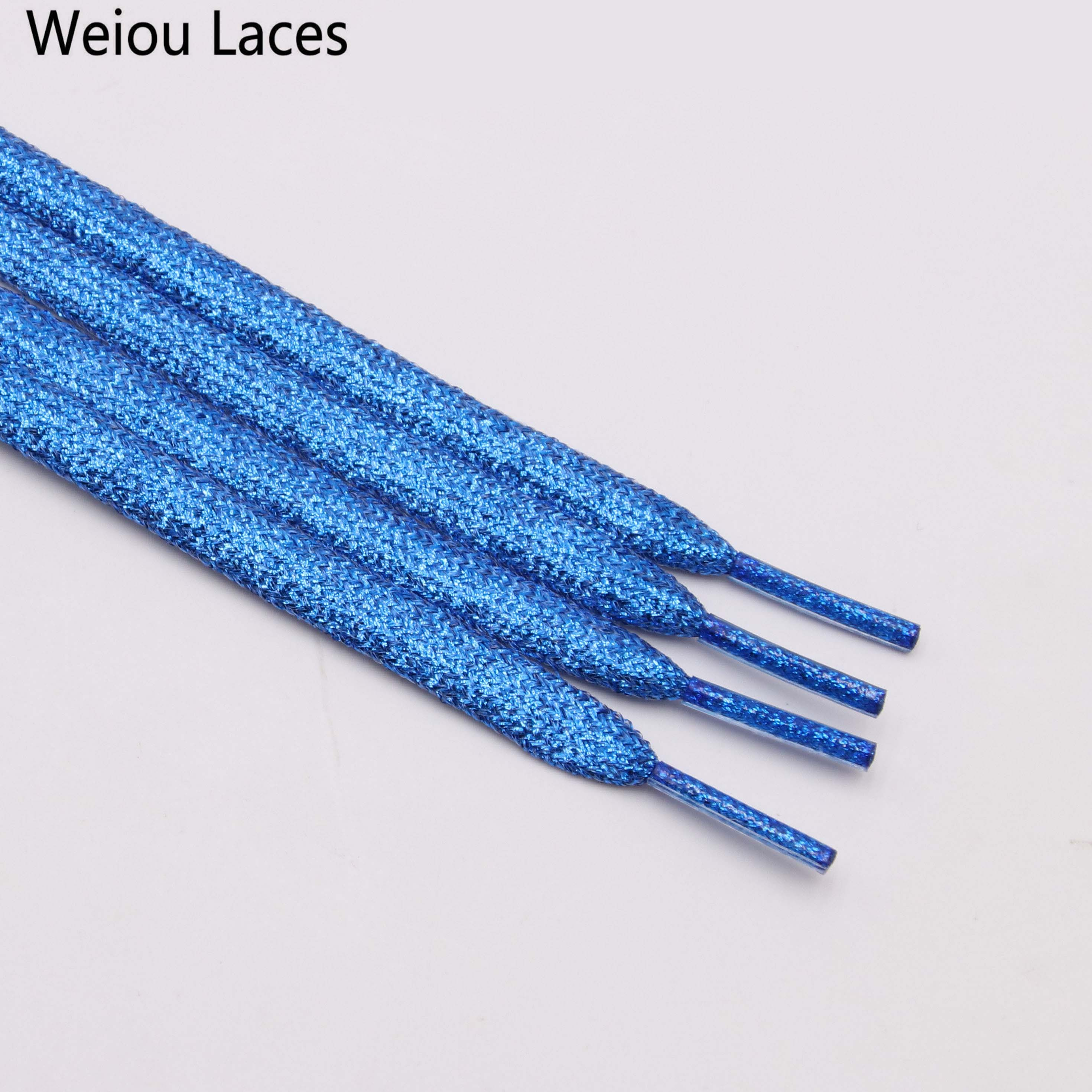 Xuansi manufacture pure mental shoestrings Cool shoes design glitter shoelaces order shoelaces online