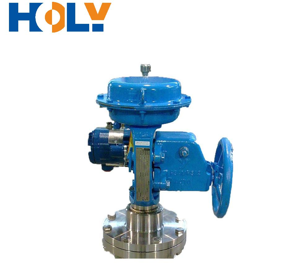 DN10 Vacuum Jacketed Piping Vacuum Insulated Flow Regulating Valve for Electronic Engineering Industry