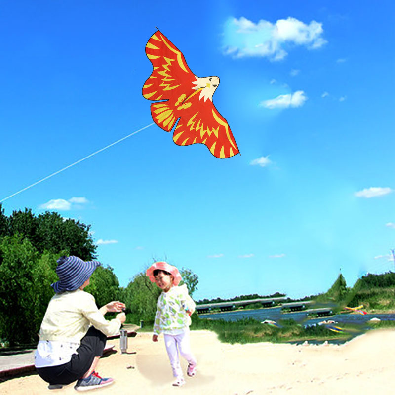 wholesale High quality tear-resistant scary fun children cheap animal easy flying eagle kite fromWeifang