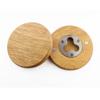 Ronde houten opener