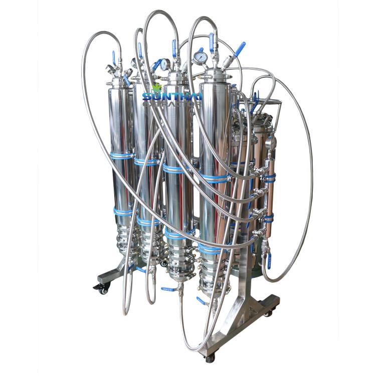 Под заказ, от 10 до 100 фунтов, система экстракции под ключ с замкнутым циклом