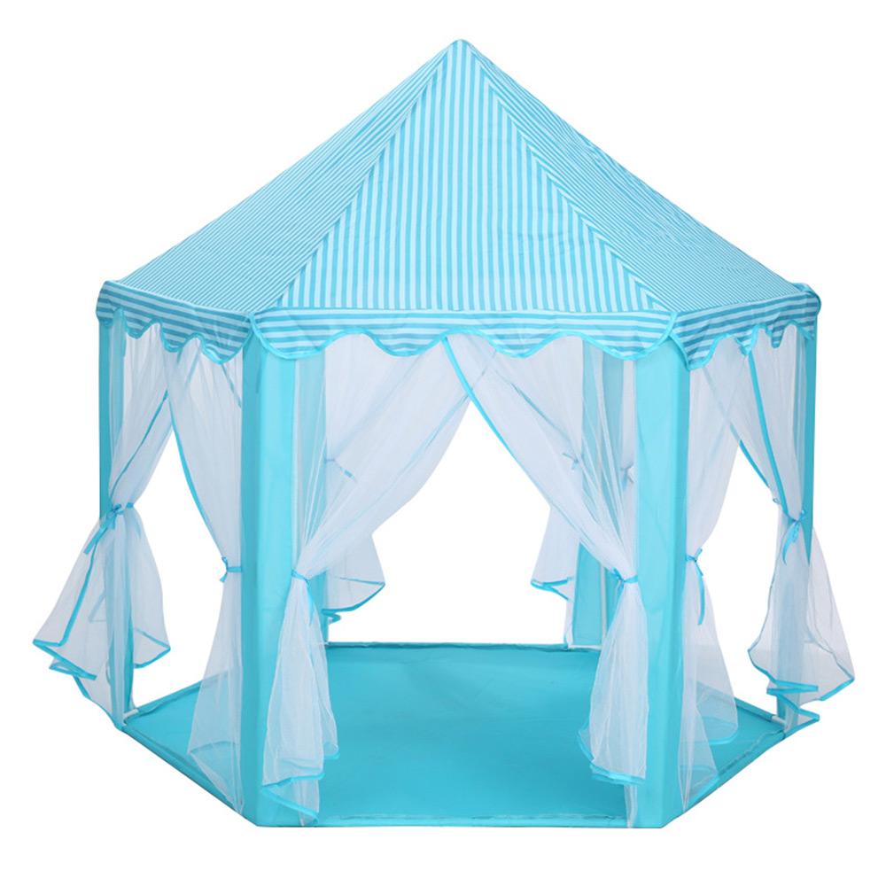 Портативная детская палатка игрушка Замок принцессы Игровая палатка для маленьких детей мальчик девочка активность Сказочный домик игров...(Китай)