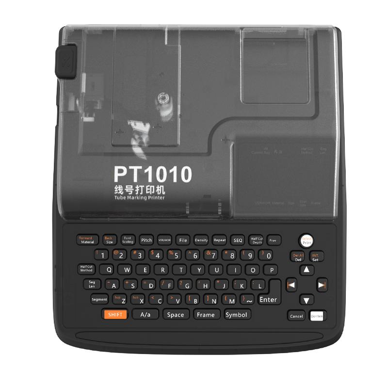 Горячая Распродажа 2019, Термотрансферная этикетка puty Pt1010, кабельный принтер